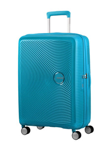 AMERICAN TOURISTER CURIO 55CM SPINNER TURQUOISE