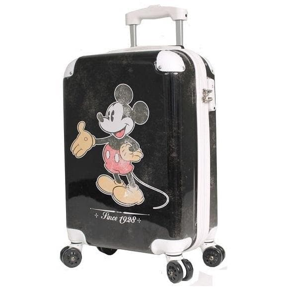 DISNEY VINTAGE MICKEY MOUSE CARRY ON SPINNER 19 INCH