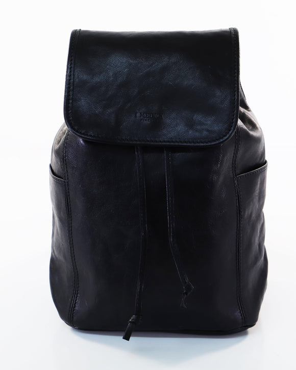 I MEDICI BACKPACK RUCKSACK TALL BLACK