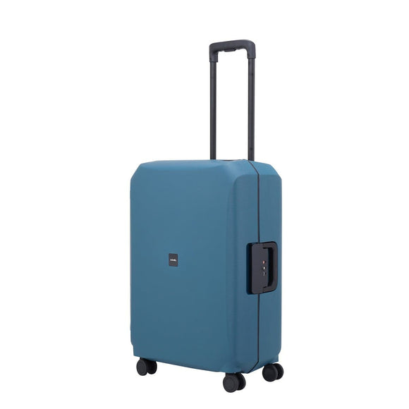LOJEL VOJA 66CM 4 WHEEL MEDIUM SUITCASE LIGHT BLUE