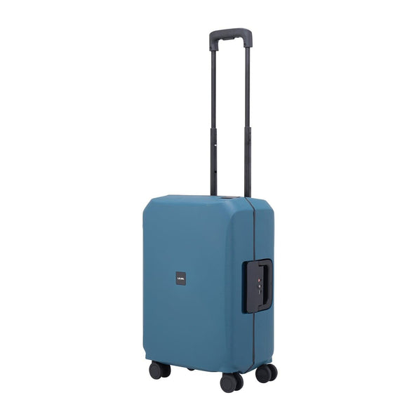 LOJEL VOJA 55CM 4 WHEEL CARRY ON SUITCASE LIGHT BLUE