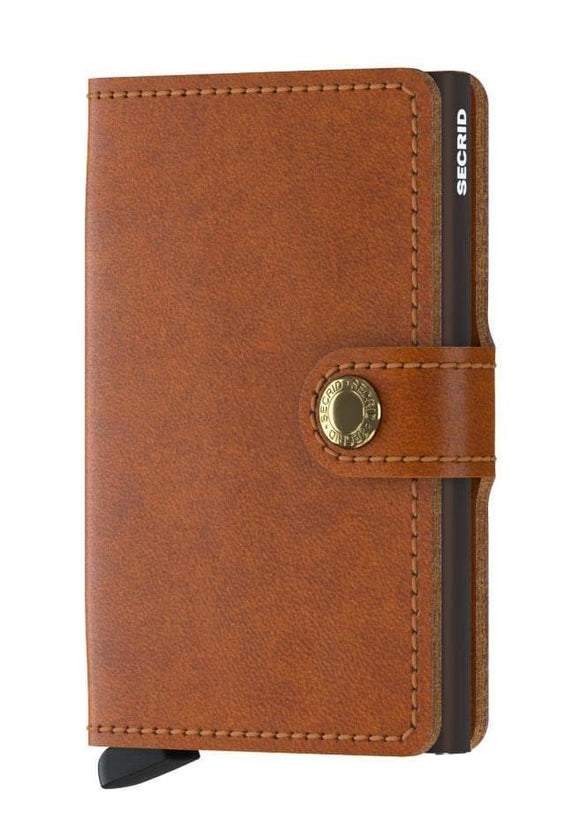 SECRID MINIWALLET COGNAC BROWN