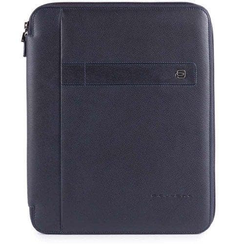 PIQUADRO BUSINESS FOLDER NAVY