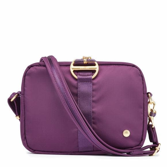 PACSAFE CX SQUARE CROSSBODY DAHLIA