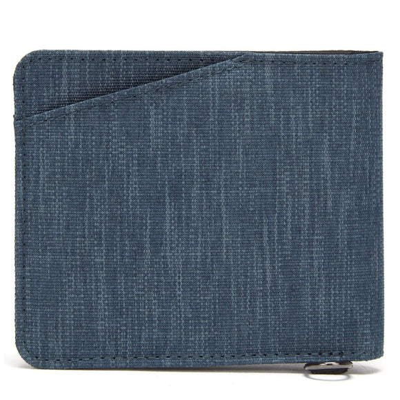 PACSAFE RFIDSAFE RFID BLOCKING BI-FOLD WALLET DENIM