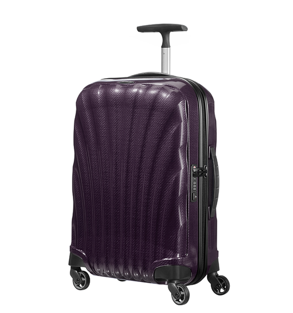 SAMSONITE COSMOLITE 55CM SPINNER PURPLE
