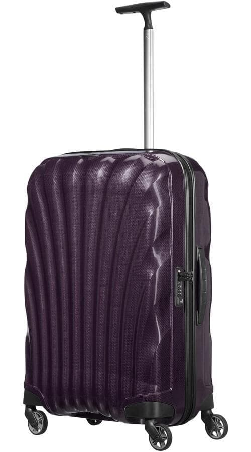 SAMSONITE COSMOLITE 69CM SPINNER PURPLE