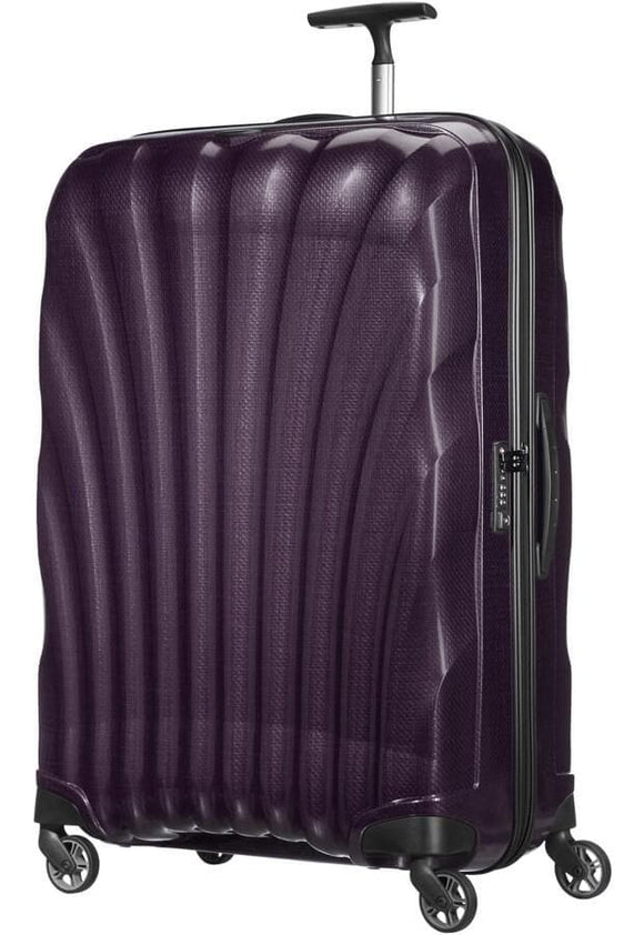 SAMSONITE COSMOLITE 81CM SPINNER PURPLE