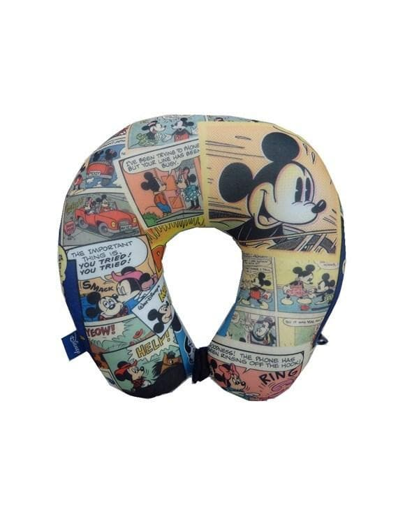 DISNEY COMIC STRIP TRAVEL PILLOW