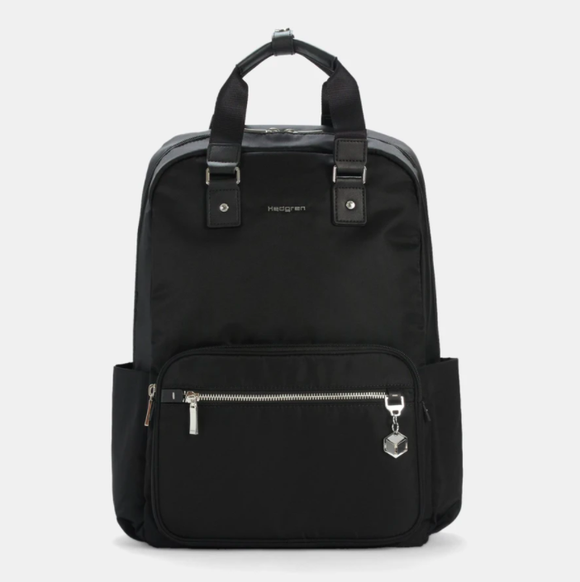 HEDGREN CHARM BUSINESS RUBIA BACKPACK SPECIAL BLACK