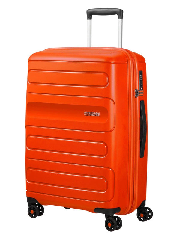 American Tourister Sunside 68cm Expandable Spinner Flame Orange