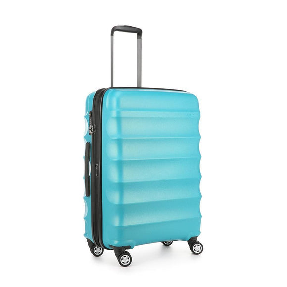ANTLER JUNO METALLIC DLX MEDIUM ROLLER CASE TEAL