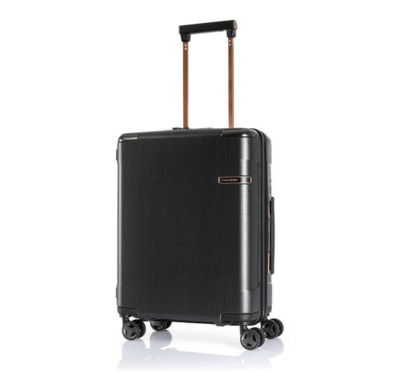 SAMSONITE EVOA TECH 55CM SPINNER BRUSHED BLACK