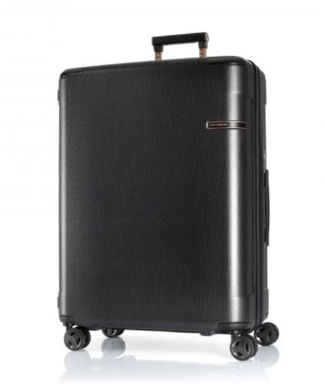 SAMSONITE EVOA TECH 75CM SPINNER BRUSHED BLACK