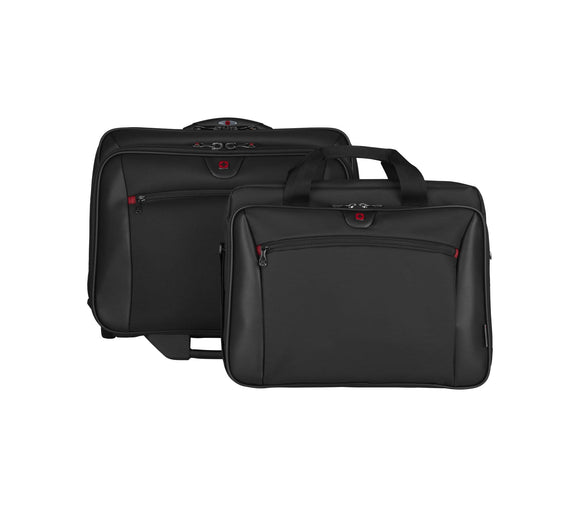 WENGER POTOMAC 2 PIECE WHEELED BUSINESS SET BLACK