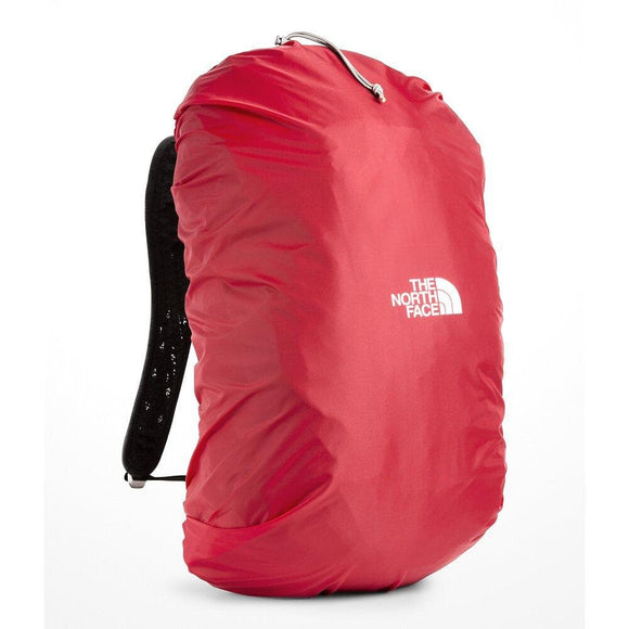 THE NORTH FACE PACK RAIN COVER LARGE RED