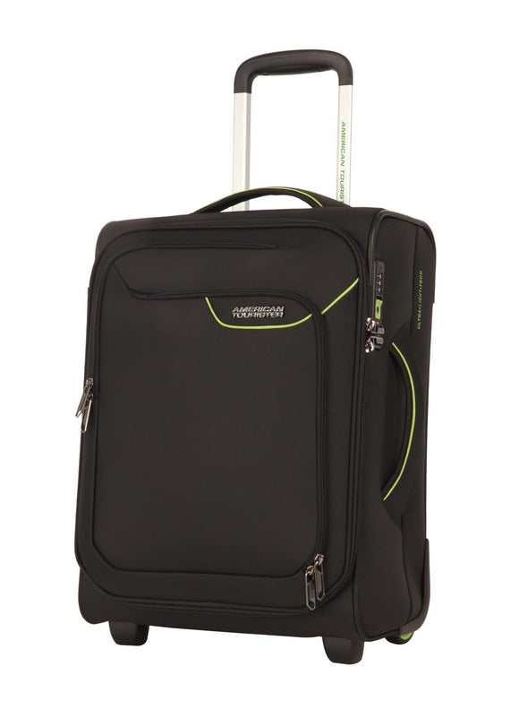 AMERICAN TOURISTER APPLITE 4SECURITY 50CM UPRIGHT BLACK/GREEN
