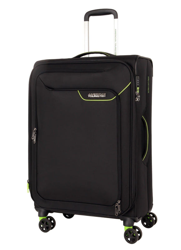 AMERICAN TOURISTER APPLITE 4SECURITY 71CM SPINNER BLACK/GREEN