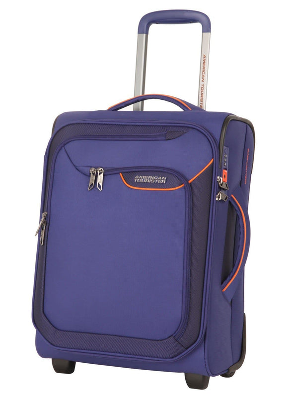AMERICAN TOURISTER APPLITE 4SECURITY 50CM UPRIGHT BODEGA BLUE