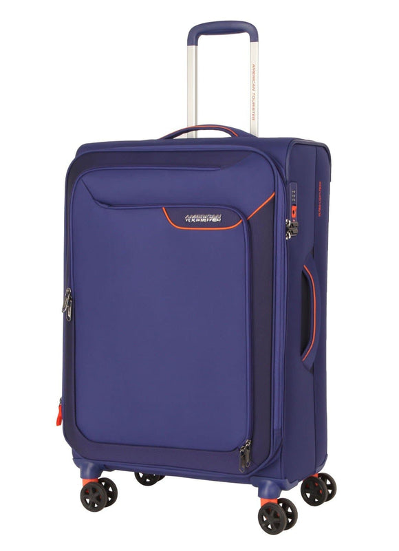 AMERICAN TOURISTER APPLITE 4SECURITY 71CM SPINNER BODEGA BLUE