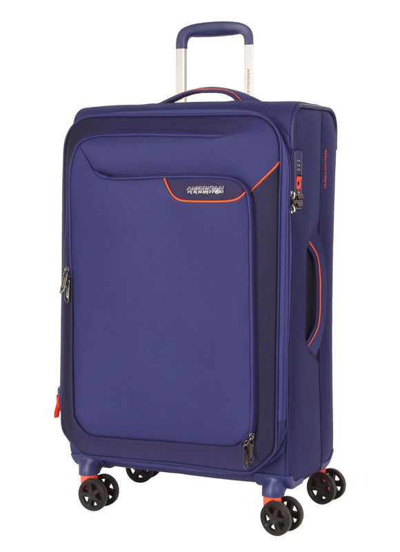 AMERICAN TOURISTER APPLITE 4SECURITY 82CM SPINNER BODEGA BLUE