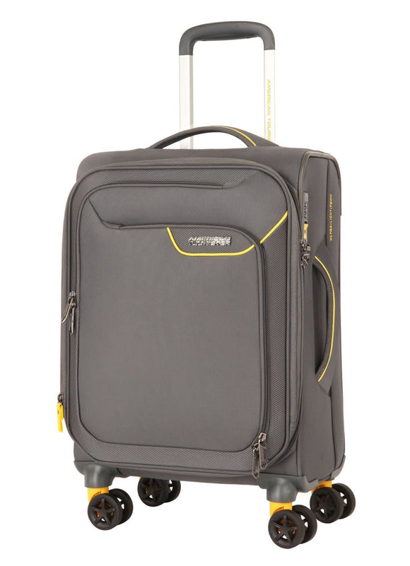 AMERICAN TOURISTER APPLITE 4SECURITY 55CM SPINNER LIGHTNING GREY