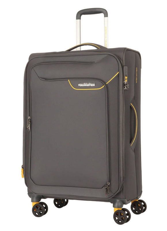 AMERICAN TOURISTER APPLITE 4SECURITY 71CM SPINNER LIGHTNING GREY