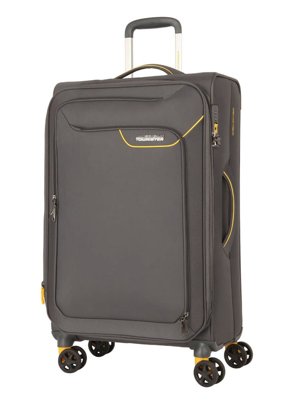 AMERICAN TOURISTER APPLITE 4SECURITY 82CM SPINNER LIGHTNING GREY