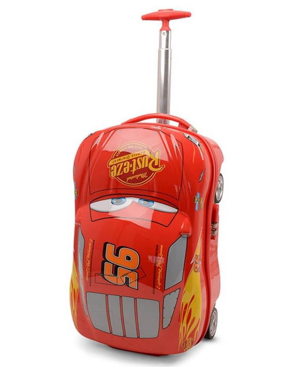 LIGHTNING MCQUEEN 19 INCH TROLLEY