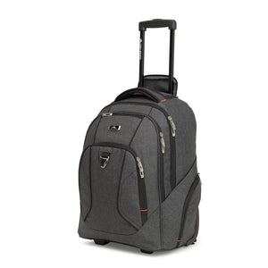 HIGH SIERRA ENDEAVOUR 52CM WHEELED BACKPACK HEATHER GREY