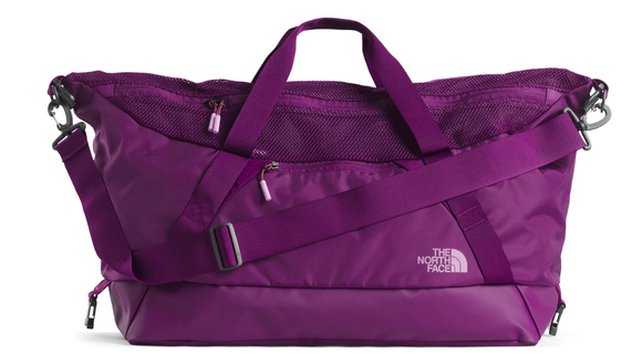 THE NORTH FACE BASE CAMP APEX GYM DUFFLE GALAXY PURPLE