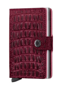 SECRID MINIWALLET RED NILE