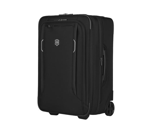 VICTORINOX WERKS TRAVELER 6 SOFTSIDE FREQUENT FLYER CARRY ON BLACK