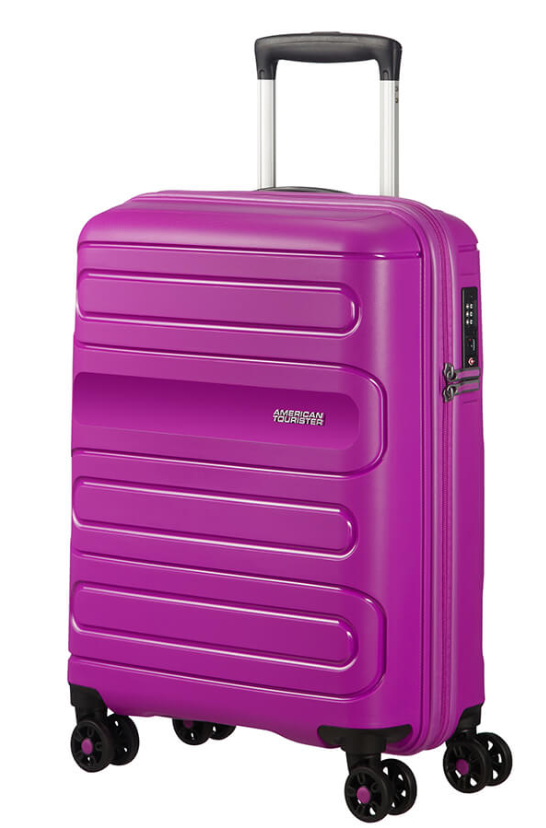 American Tourister Sunside 55cm Expandable Spinner Ultraviolet
