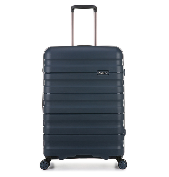 ANTLER JUNO 2 4W MEDIUM ROLLER CASE NAVY