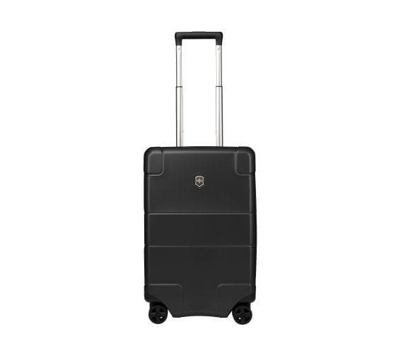 Victorinox Lexicon Hardside Frequent Flyer Carry On 4 Wheel Upright Spinner Black 602101