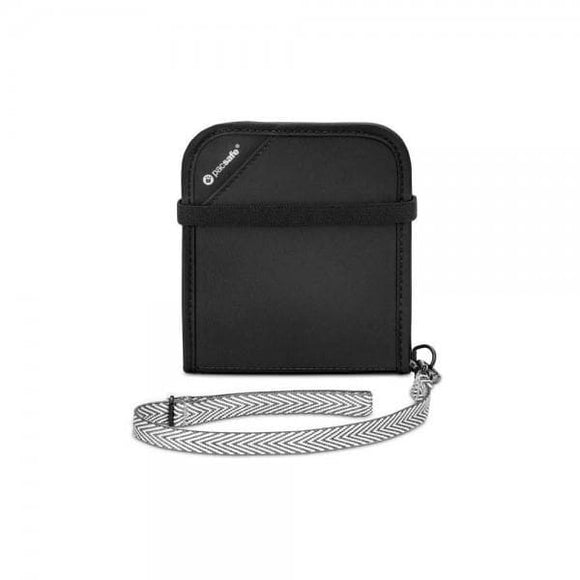 Pacsafe RFIDsafe V100 Wallet Black