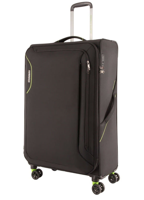 American Tourister Applite 3.0S Black/Green 82cm Spinner