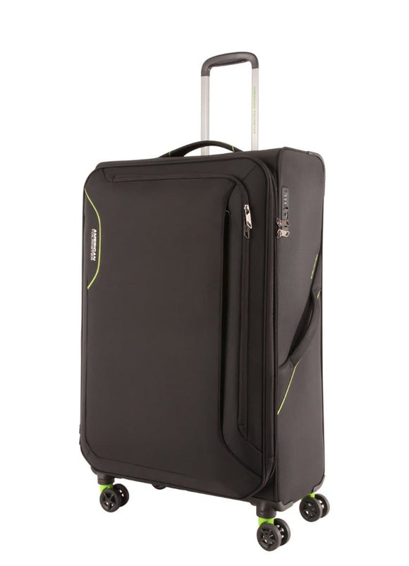American Tourister Applite 3.0S Black/Green 71cm Spinner