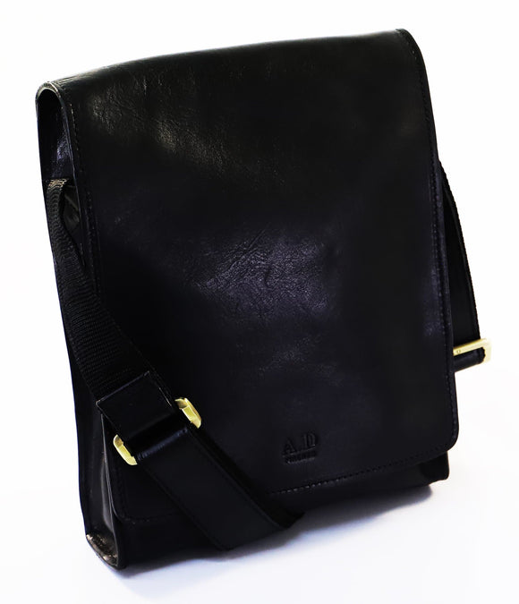 ADRIANO ITALIAN SMALL SHOULDER BAG BLACK