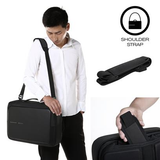 XD Design Bobby Bizz Anti-Theft Backpack & Briefcase Black
