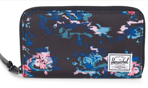 Herschel Thomas B Wallet Flower Blur