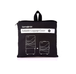 SAMSONITE LUGGAGE FOLDABLE LUGGAGE COVER M BLACK