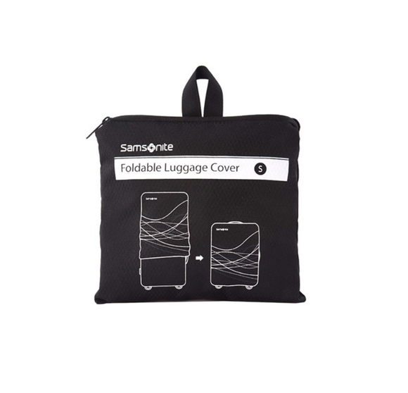 Samsonite Travel Link Accessories Foldable Luggage Cover S Black