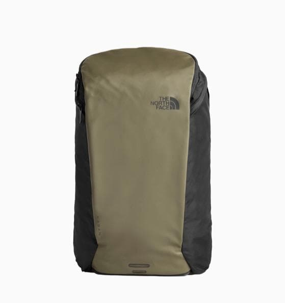 THE NORTH FACE KABAN BACKPACK TAUPE GREEN ASPHALT GREY