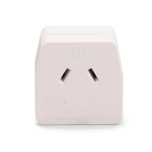 Go Travel Earthed Adaptor - AU/NZ to USA/Japan