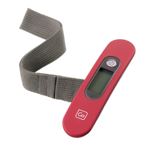 GO TRAVEL DIGITAL LUGGAGE SCALE RED