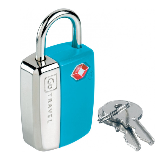 Go Travel Glo Travel Sentry Lock Blue