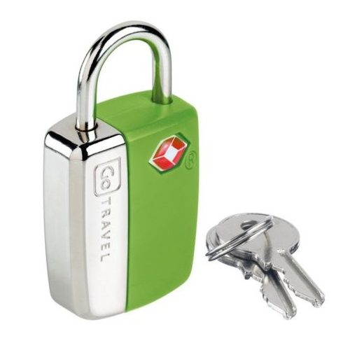 GO TRAVEL GLO TRAVEL PADLOCK TRAVEL SENTRY
