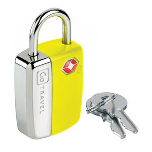 GO TRAVEL GLO TRAVEL SENTRY LOCK YELLOW
